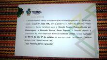 o convite do Governo de Goiás